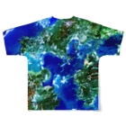 WEAR YOU AREの山口県 熊毛郡 Full graphic T-shirtsの背面