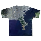 WEAR YOU AREの神奈川県 逗子市 Full graphic T-shirtsの背面