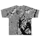 WEAR YOU AREの東京都 中央区 Full graphic T-shirtsの背面