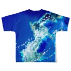 WEAR YOU AREの沖縄県 中頭郡 Full graphic T-shirtsの背面