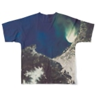 WEAR YOU AREの北海道 小樽市 Full graphic T-shirtsの背面