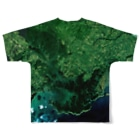 WEAR YOU AREの北海道 厚岸郡 Full graphic T-shirtsの背面
