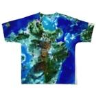 WEAR YOU AREの九州北部豪雨災害チャリティTシャツ両面 Full graphic T-shirtsの背面