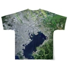 WEAR YOU AREの東京都 板橋区 Tシャツ 両面 Full graphic T-shirtsの背面