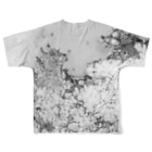 WEAR YOU AREの佐賀県 唐津市 Tシャツ 両面 Full graphic T-shirtsの背面