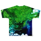 WEAR YOU AREの北海道 厚岸郡 Tシャツ 両面 Full graphic T-shirtsの背面