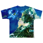 WEAR YOU AREの愛媛県 松山市 Tシャツ 両面 Full graphic T-shirtsの背面