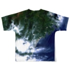 WEAR YOU AREの三重県 熊野市 Tシャツ 両面 Full graphic T-shirtsの背面