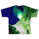 WEAR YOU AREの北海道 小樽市 Tシャツ 両面 Full graphic T-shirtsの背面