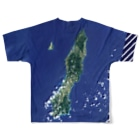WEAR YOU AREの鹿児島県 熊毛郡 Tシャツ 両面 Full graphic T-shirtsの背面