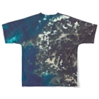 WEAR YOU AREの愛媛県 八幡浜市 Tシャツ 両面 Full graphic T-shirtsの背面