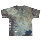 WEAR YOU AREの群馬県 桐生市 Tシャツ 両面 Full graphic T-shirtsの背面