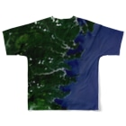 WEAR YOU AREの岩手県 釜石市 Tシャツ 両面 Full graphic T-shirtsの背面