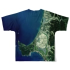 WEAR YOU AREの秋田県 男鹿市 Tシャツ 両面 Full graphic T-shirtsの背面