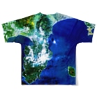 WEAR YOU AREの静岡県 伊東市 Tシャツ 両面 Full graphic T-shirtsの背面