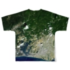 WEAR YOU AREの静岡県 浜松市 Tシャツ 両面 Full graphic T-shirtsの背面