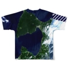 WEAR YOU AREの青森県 むつ市 Tシャツ 両面 Full graphic T-shirtsの背面