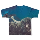 WEAR YOU AREの鳥取県 米子市 Tシャツ 両面 Full graphic T-shirtsの背面