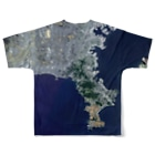 WEAR YOU AREの神奈川県 逗子市 Tシャツ 両面 Full graphic T-shirtsの背面