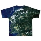 WEAR YOU AREの愛媛県 大洲市 Tシャツ 両面 Full graphic T-shirtsの背面