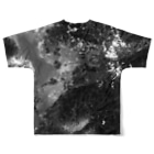 WEAR YOU AREの熊本県 上益城郡 Tシャツ 両面 Full graphic T-shirtsの背面