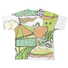 Ran KobayashiのTACOLAND Full graphic T-shirtsの背面