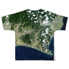 WEAR YOU AREの静岡県 菊川市 Tシャツ 両面 Full graphic T-shirtsの背面