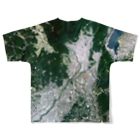 WEAR YOU AREの京都府 長岡京市 Tシャツ 両面 Full graphic T-shirtsの背面