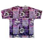 g3p 中央町戦術工藝のbikini_girls not found 02 Full graphic T-shirtsの背面