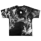 WEAR YOU AREの日本 Tシャツ 両面 Full graphic T-shirtsの背面