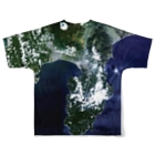 WEAR YOU AREの静岡県 沼津市 Tシャツ 両面 Full graphic T-shirtsの背面