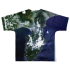 WEAR YOU AREの静岡県 伊豆の国市 Tシャツ 両面 Full graphic T-shirtsの背面