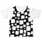 ゴータ・ワイのキューブ レイヤード(前後2面プリント) Full graphic T-shirtsの背面
