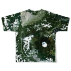 WEAR YOU AREの山梨県 南都留郡 Tシャツ 両面 Full graphic T-shirtsの背面