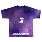 tottoの【販売済み】境川フリー/3番 Full graphic T-shirtsの背面