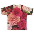 JADEM BALLETのFlower Full graphic T-shirtsの背面