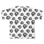 猫と釣り人のCAT_3_1_PT Full graphic T-shirtsの背面