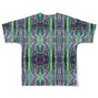~ういりおのお店やさん~の~光の方へ全面Tシャツ~ Full graphic T-shirtsの背面