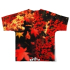 grapht designの復刻忍者2001 Full graphic T-shirtsの背面
