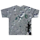 WEAR YOU AREの東京都 港区 Tシャツ 両面 Full graphic T-shirtsの背面