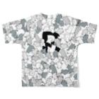 SHOP ROMEO のROMEOnekokamo Full graphic T-shirtsの背面