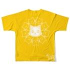 リミッツのまったリミッツ 開運ねこ太郎 Full graphic T-shirtsの背面
