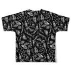 BLACKINKのNest Full graphic T-shirtsの背面