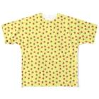 chobi shopのいっぱいスイカ(イエロー) Full graphic T-shirts