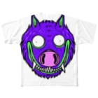HUGオフォシャルショップのI`m WoLuffy Full graphic T-shirts