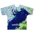 WEAR YOU AREの日本 Tシャツ 両面 フルグラフィックTシャツ