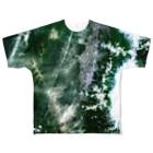 WEAR YOU AREの山形県 県道49号線 Tシャツ 両面 フルグラフィックTシャツ