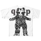 Jackpool の👼🏼🌞qpゼンタングル🌝👼🏼 Full graphic T-shirts