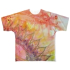 haomei.artの開運💕龍さま✨ Full graphic T-shirts