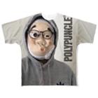 ポリプおじさんのPOLYPUNCLE®︎ Full graphic T-shirts
